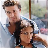 Adriana Lima i David Boreanaz  (2000)