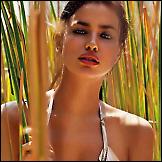 Irina Shayk – Agua Bendita kupaći kostimi