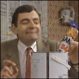 Mr Bean - Kako ofarbati stan