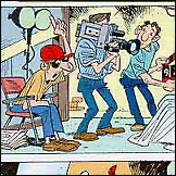 Kamera, ton, akcija