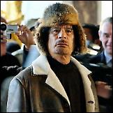 Muammar al-Gaddafi - modna ikona