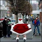 Smiješni Djed Mraz
