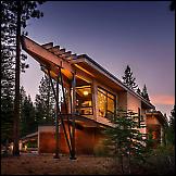 Drvena ladanjska kuća