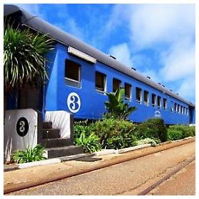 Hostel u starom vlaku
