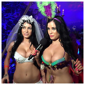 Playboy Halloween Party 2014