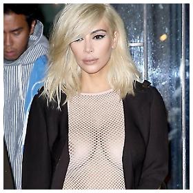 """Kim Kardashian na """"Lanvin"""" fashion showu u Parizu"""