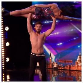 "Bili i Emili u ""Britain's Got Talent"""