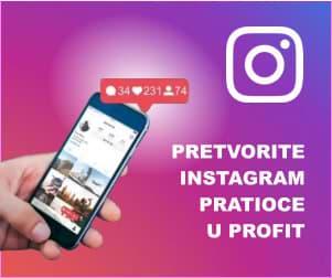 Pretvorite svoje Instagram pratioce u profit!