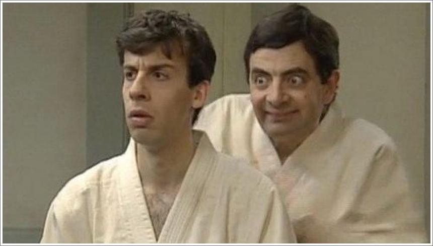 Mr Bean - Judo Class