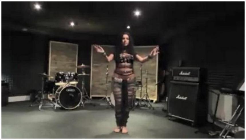"""Diana Bastet trbušna plesačica - AC/DC """"Thunderstruck"""""""