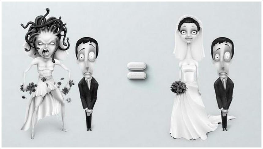 Aspirin - kreativno oglašavanje