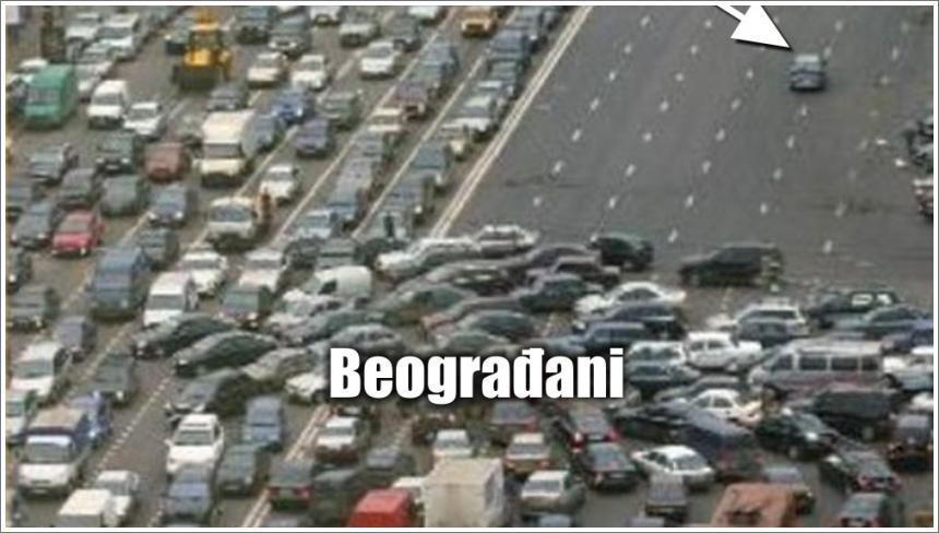U Beogradu uopšte nema straha ni panike...