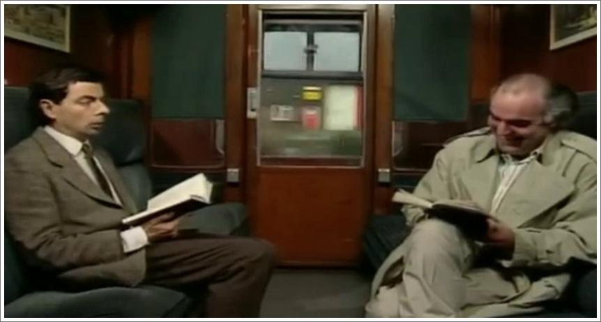 Mr Bean - Takes the Train