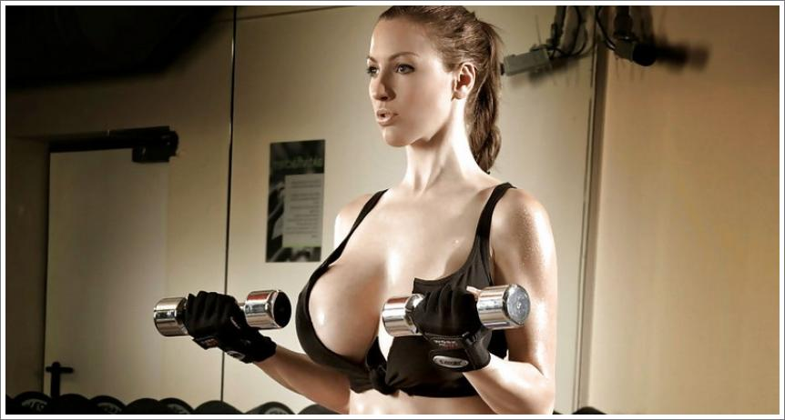 Jordan Carver - fitness