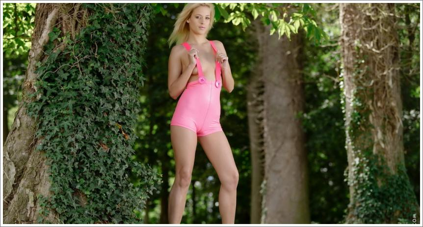 Pink hlačice (25 HQ fotografija)