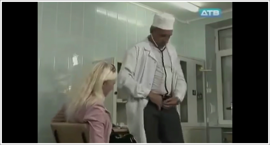 Doktor i stetoskop