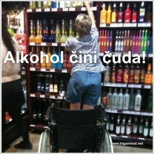 Alkohol čini čuda