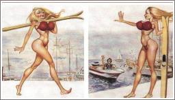 Dolly i skijanje na vodi