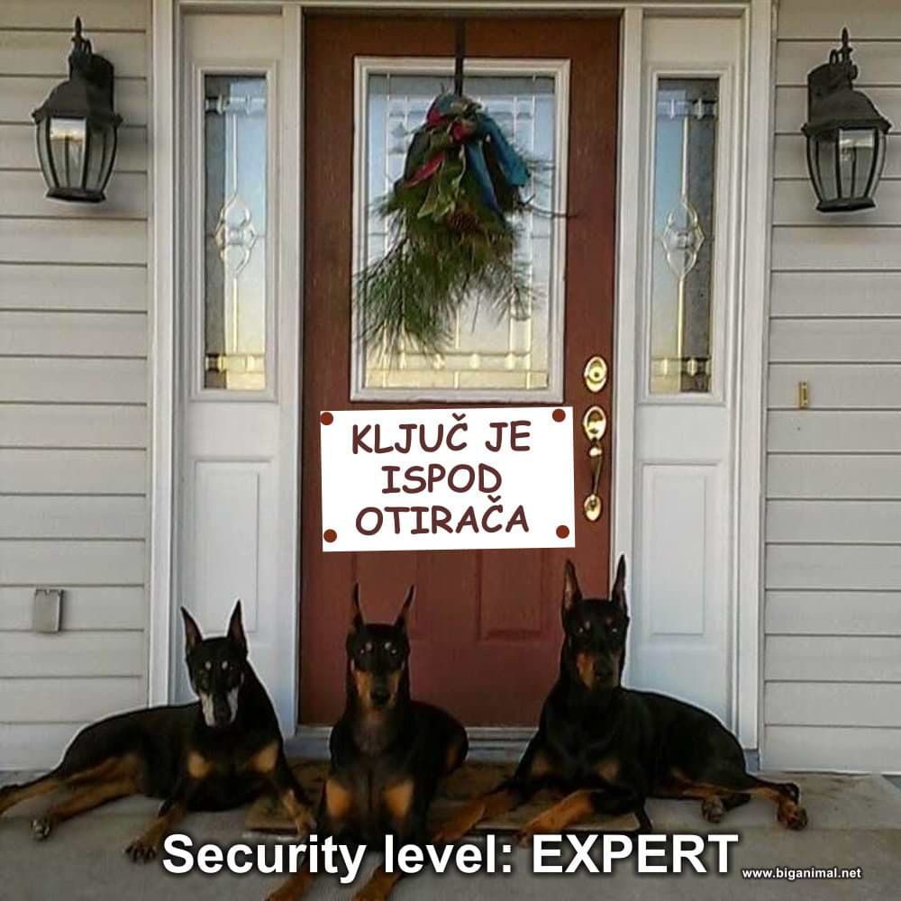 Security level: EXPERT