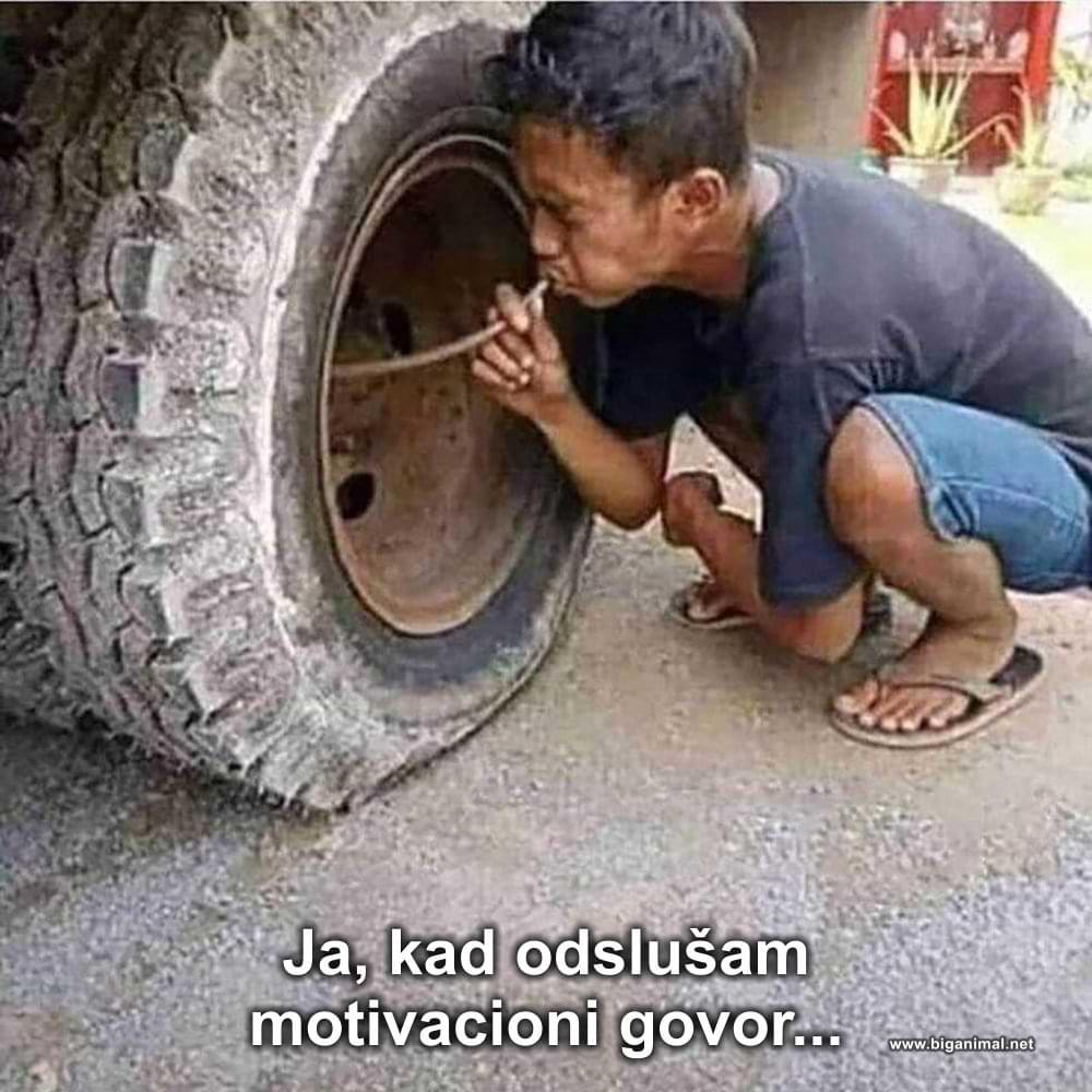 Motivacija je čudo...
