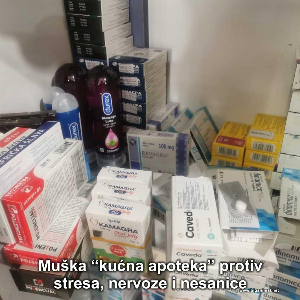 """Muška """"kućna apoteka"""""""