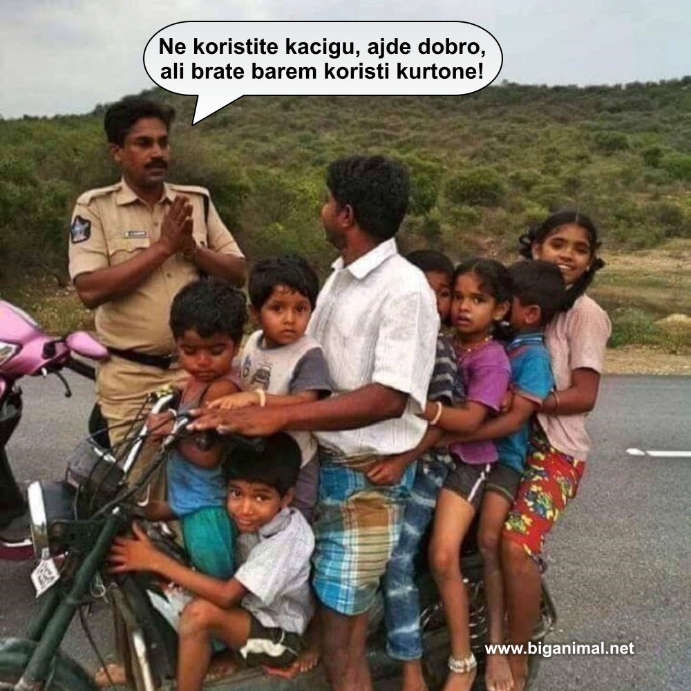 Kad te policajac zamoli