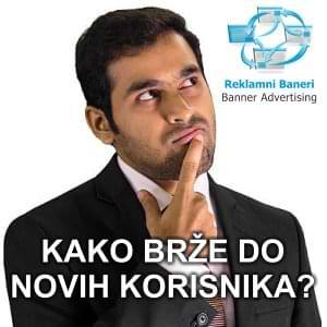Izrada i postavljanje reklamnih banera u mreži web sajtova