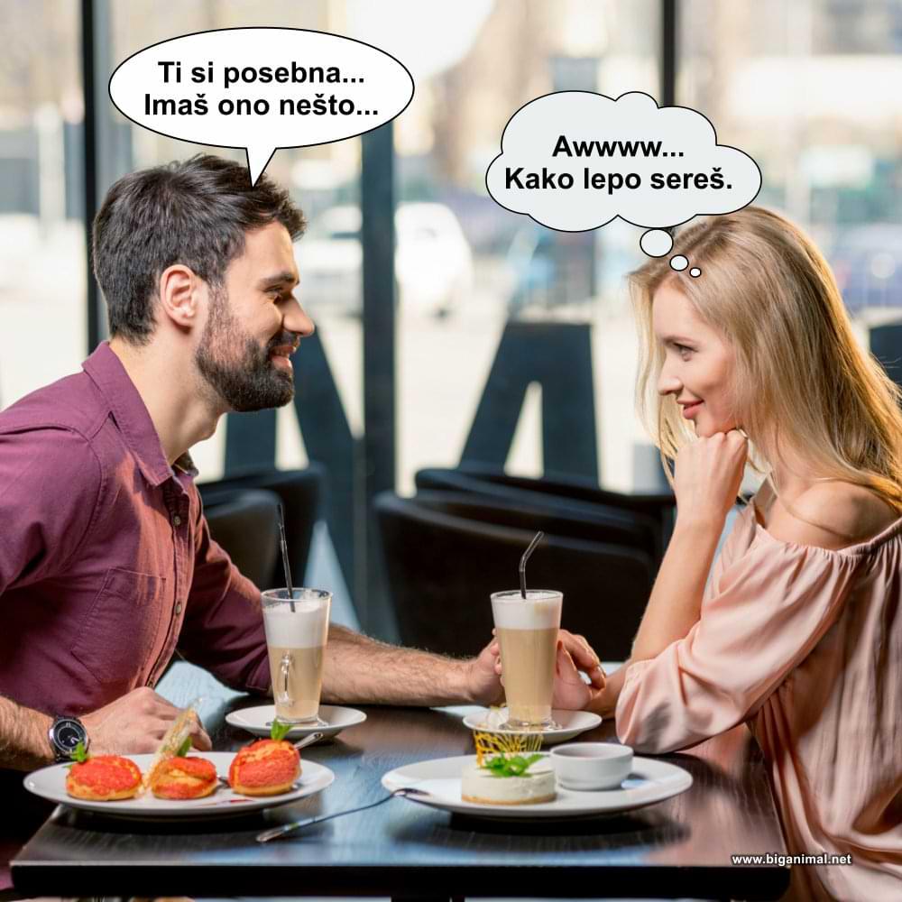 Žene znaju da ih lažemo, ali ipak...