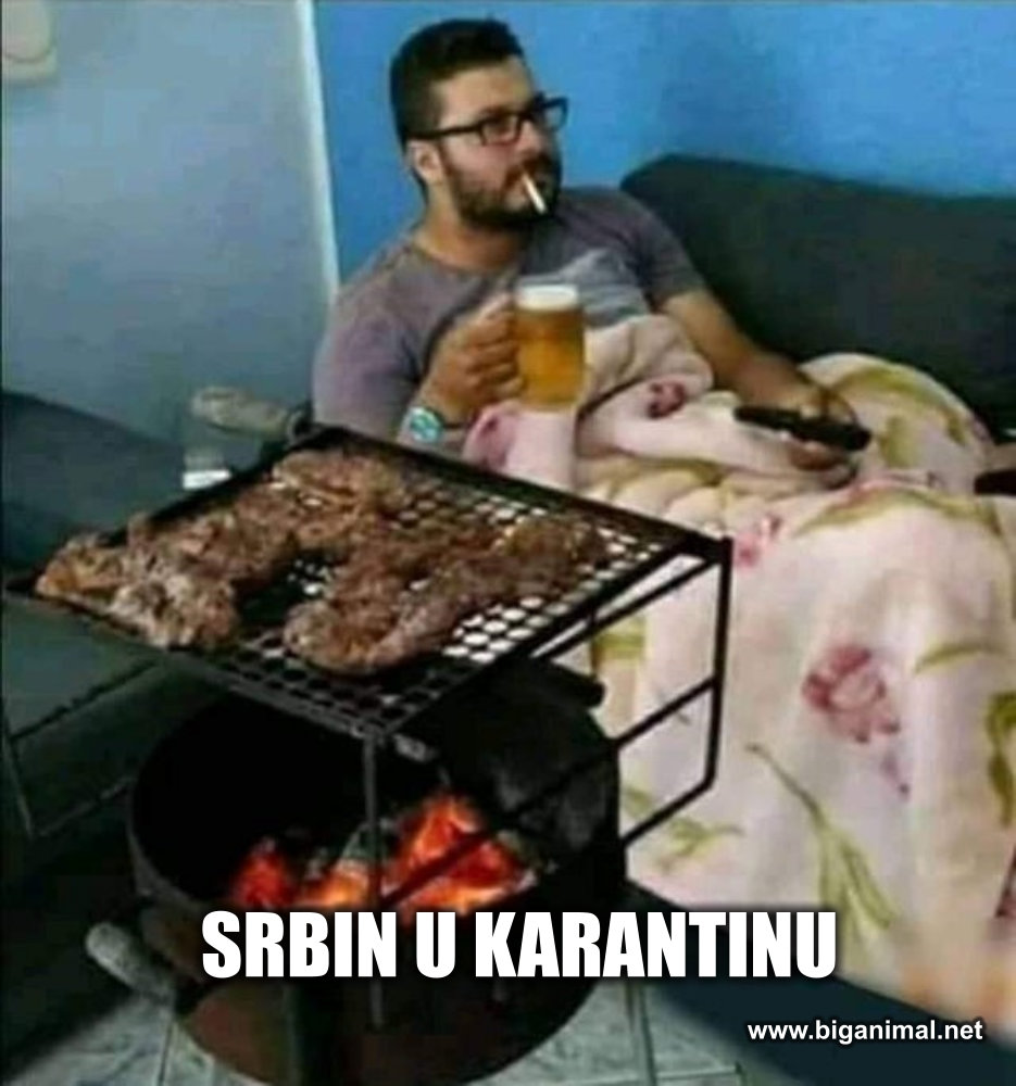 Srbin u karantinu