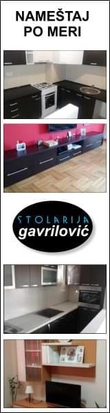Stolarija Gavrilović - izrada nameštaja po meri