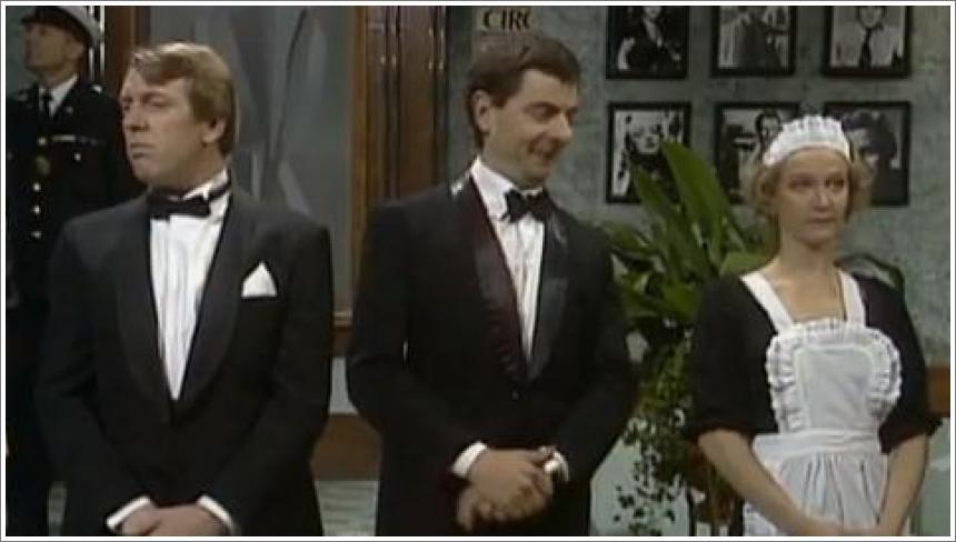 Mr Bean - Susret sa kraljicom