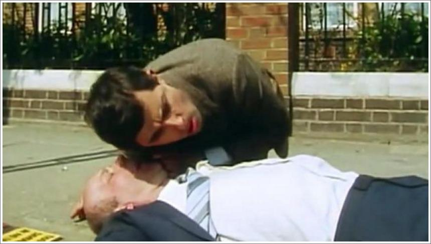 Mr Bean - Heart Attack and First Aid