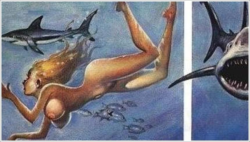 Dolly i morski pas