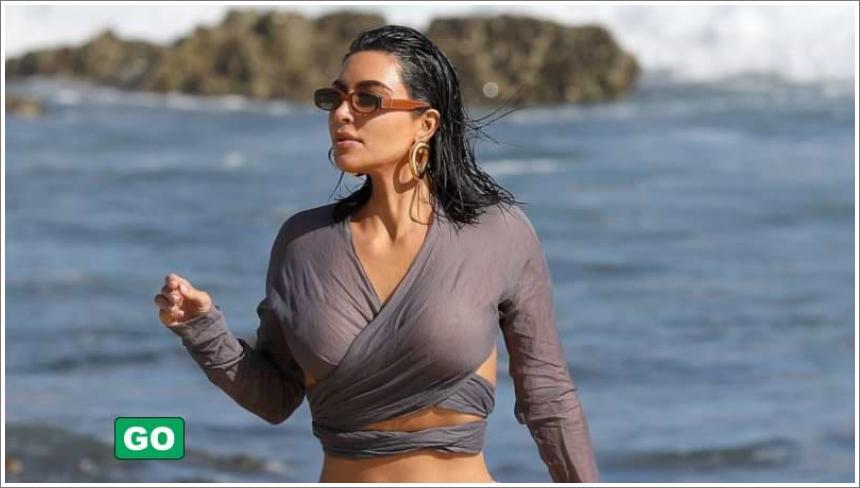 Kim Kardashian u seksi bikiniju