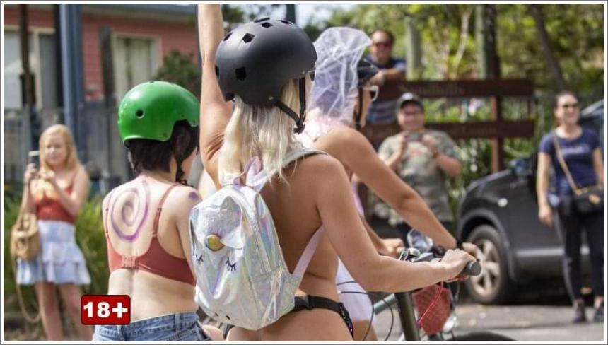 Gola vožnja biciklom u Australiji
