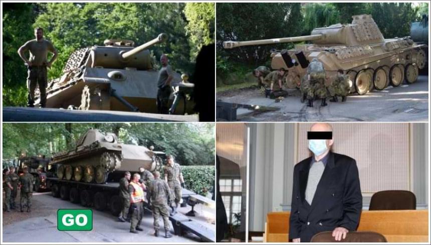 Njemački umirovljenik osuđen zbog skrivanja tenka na njegovom imanju