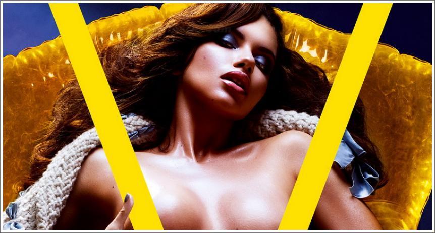 Topless celebriti u V magazinu - necenzurirano