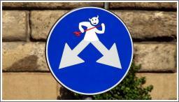Neobični prometni znakovi