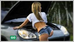 Seksi djevojke u kratkim hlačicama №5