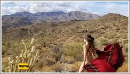 Gola se slika na egzotičnim mjestima