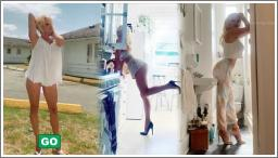 Pamela Anderson, vrući modni editorijal