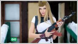Seksi djevojke sa oružjem