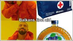 Balkans first aid