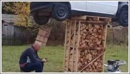 Da mu ne ukradu drva
