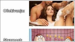 Romantika u kadi...
