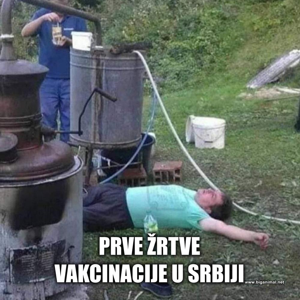 Prve žrtve vakcinacije u Srbiji